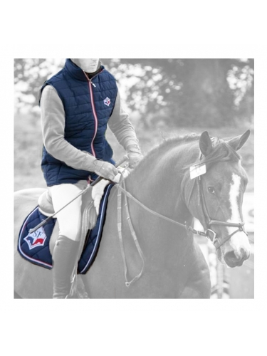 LIGHT DOWN BODYWARMER EQUESTRIAN MEN QING